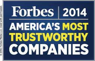 Forbes: America's Most Trusted Companies, 2014